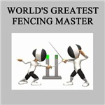 world's greatest fencer gifts t-shirts