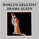 world's greatest drama queen gifts t-shirts