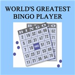 world's greatest bingo gifts t-shirts