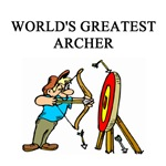 archer archery gifts t-shirts presents