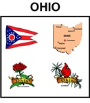 state of ohio design gifts t-shirts,posters