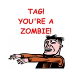 zombie tag gifts t-shirts