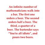 funny math joke on gifts and t-shirts