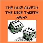 funny dice joke gifts t-shirts