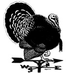 Turkey Weathervane