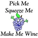 Pick Me Wine T-shirts and Gifts