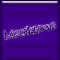 Miscellaneous T-shirts & Gifts