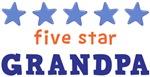 Five Star Grandpa Shirts