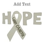 Personalized Lung Cancer Hope Shirts