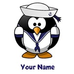 Personalized Sailor Penguin Shirts