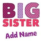 Custom Big Sister Shirts
