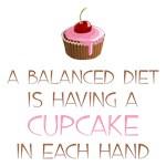 Cupcake Diet Shirts