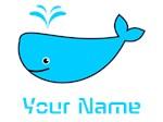 Custom Name Whale