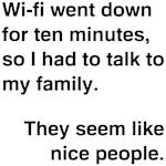 Wi-fi Funny Saying Shirts