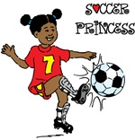 Soccer Princess T-shirts and Gifts
