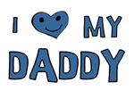 I Love My Daddy Baby Clothing