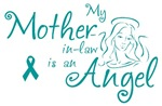 Ovarian Cancer Angel Mother-in-law T-shirts