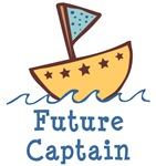 Future Captain Baby T-shirt