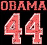 Retro Pink Team Obama 44 Tshirt
