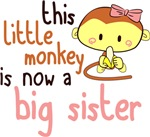 This Little Monkey Is Now a Big Sister Shirts