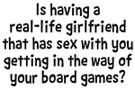 Girlfriend Board Games Shirts