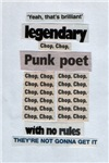 Legendary Punk Poet