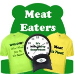 Society of Meat Eaters: Meatatarian T-Shirts & Etc