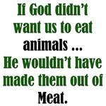 God Likes Meat: Funny T-Shirts & Gifts