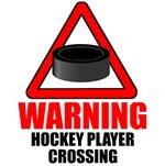 Warning: Hockey Player