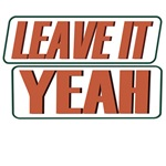 leave it yeah