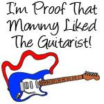 Proof Mommy Liked Guitarist Blue