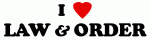 I Love LAW & ORDER