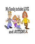 My Family includes LOVE and AUTISM