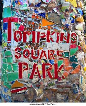 MosaicManNYC Tompkins Square Park