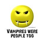 Vampires Were People Too