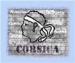Corsica wall