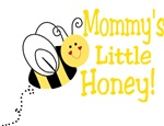 Mommy's little honey with a bee!