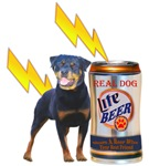 Share A Beer With You Rottweiler