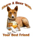  Basenji Shares A Beer