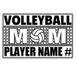 Personalized Volleyball Mom