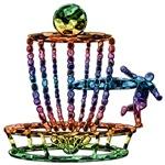 Disc Golf Chain Art
