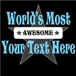 Personalized World's Most Awesome