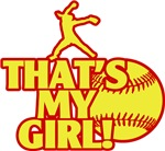 That's My Girl Fastpitch Pitcher