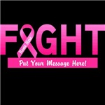 Personalized Cancer Fight Ribbon