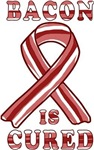 Bacon Cured Cancer Ribbon