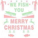 Fishing Ugly Christmas Sweater