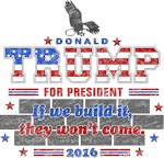 Trump for President 2016 Wall Classic