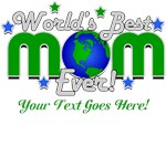 Worlds Greatest Mom Personalized