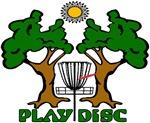 Disc Golf Landscape Original Design
