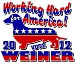 Weiner 2012 Working Hard for America